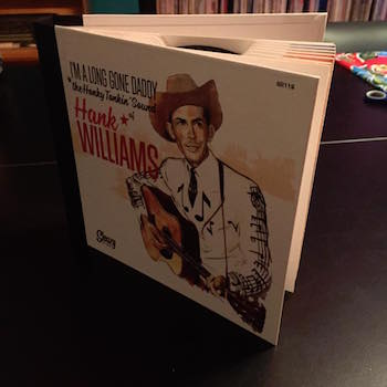 Williams ,Hank - I'm A Long Go Daddy ( ltd 45's deluxe box )
