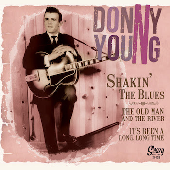 Young ,Donny - Shakin' The Blues + 2 ( ltd 45's )