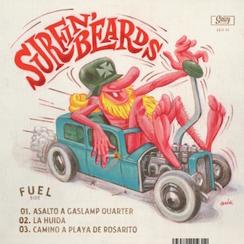 "Surfin' Beards - Surfin' Beards ( ltd 10"" )"
