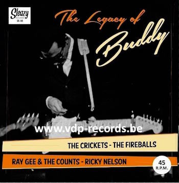 V.A. - The Legacy Of Buddy Holly : Crickets ,Fireballs ..