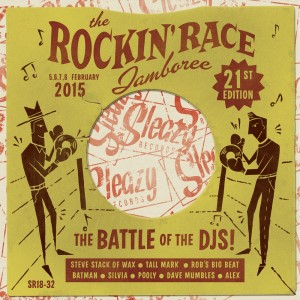 V.A. - The Rockin' Race Jamboree 2015: The Battle Of The Dj's