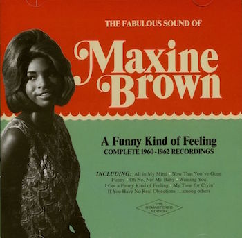 Brown ,Maxime - A Funny Kind Of Feeling