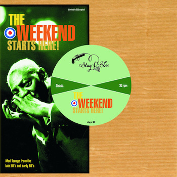 "V.A. - The Weekend Starts Here ( ltd 10"" lp )"