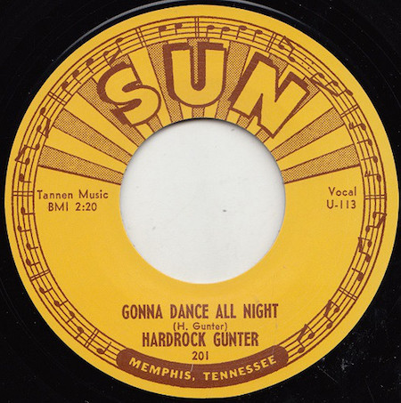 Hardrock ,Gunter - Gonna Dance All Night + 1 ( Repro Sun rec)