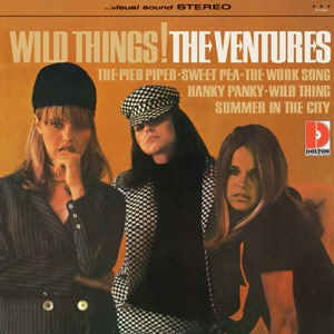 Ventures ,Wild Things ( limited colored 180gr vinyl)