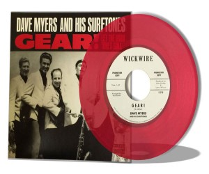 Dave Myers And His Surftones - Gear ! + 1 ( ltd rsd 2016 )