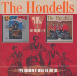 Hondells ,The - 2on1 Go Little Honda / The Hondells