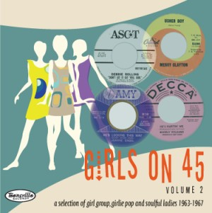 V.A. - Girls On 45's Vol 2 : 26 Girl Groups ,Girlie Pop & ...