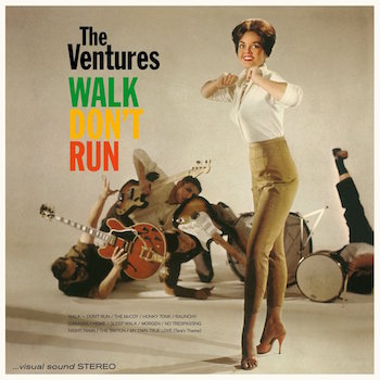 Ventures ,The - Walk Don't Run + 4 bonus tracsk ( ltd 180gr )