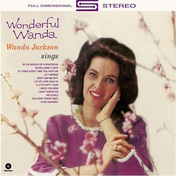 Jackson ,Wanda - Wonderful ( Ltd 180gr)