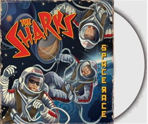 "Sharks ,The - The Space Race ( limited color 10"" )"