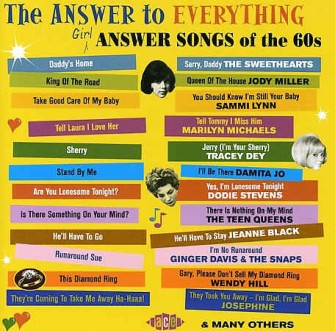 V.A. - Answer To Everything : Girl Answer Songs Of The 60's