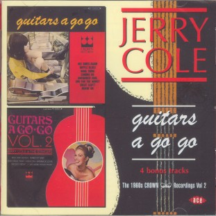 Cole ,Jerry - Guitars A go Go Vol - 2