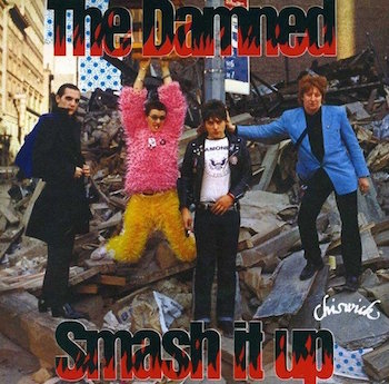 Damned ,The - Smash It Up + 1 ( Ltd Color 45's )