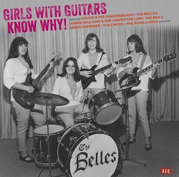 V.A. - Girls With Guitars Know Why ! ( Ltd Color Vinyl )