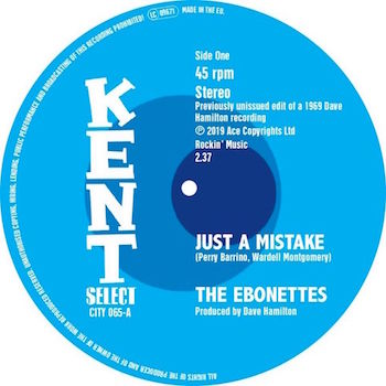 Little Ann - Ebonettes - Just A Mistake / Little Ann - Lean L...