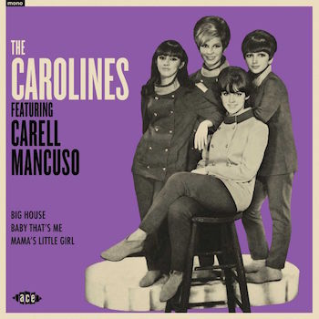 Carolines ,The - Feacturing Carell Mancuso ( ltd 45's Ep)