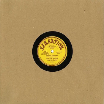 "Hooker ,John Lee - Boogie Chillen + 1 ( Ltd 10"" 78 rpm )"