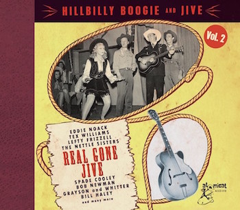 V.A. - Hillbilly Boogie & Jive Vol 2 : Real Gone Jive