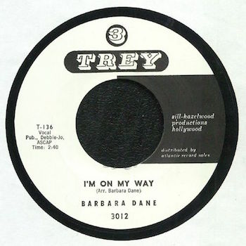 Dane ,Barbara - I'm On My Way + 1 ( 3 Trey Rec Repr )