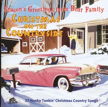 V.A. - Christmas On The Countryside : 27 Honky Tonkin' Christmas