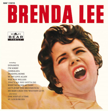 "Lee, Brenda - Brend Lee ( Ltd 10"" color )"