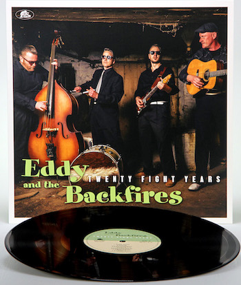 Eddy And The Backfires - Twenty Fight Years ( Ltd Lp )