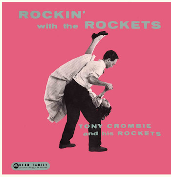 "Crombie ,Tony - Rockin' With The Rockets ( ltd 10"" color )"