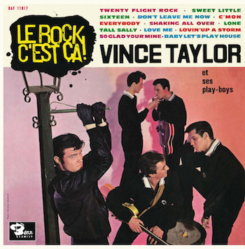 "Taylor ,Vince - Le Rock C'est ... ( Ltd 10"" Color )"