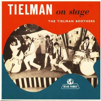 "Tielman Brothers ,The - Tielman On Stage ( Ltd 10"" Lp Color)"