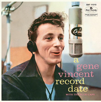 "Vincent ,Gene - A Gene Vincent Record Date ( Ltd Color 10"")"