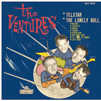 "Ventures ,The - The Ventures Play Telstar ( Ltd 10"" Color )"