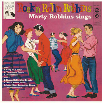 "Robbins ,Marty - Rock'n Roll'n Robbins ( Ltd Color 10 "")"