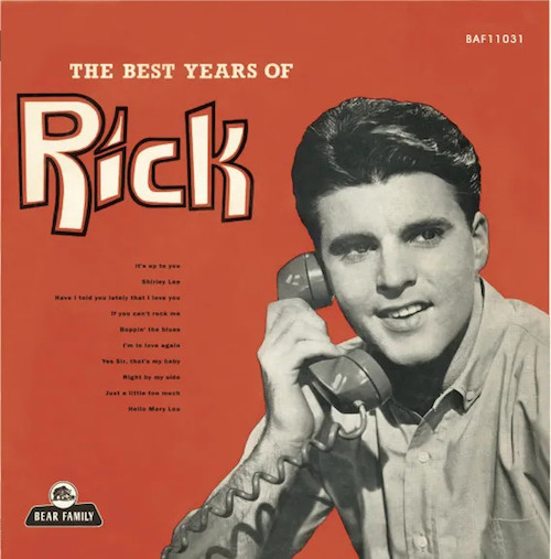 "Nelson , Rick - The Best Years ( Ltd Color 10"" )"