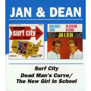 Jan & Dean - 2on1 Surf City /Dead Man's Curve/The New Girl In..