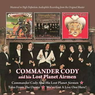 Commander Cody And His Lost Planet A.. - 3 Originals on 2 Cd's