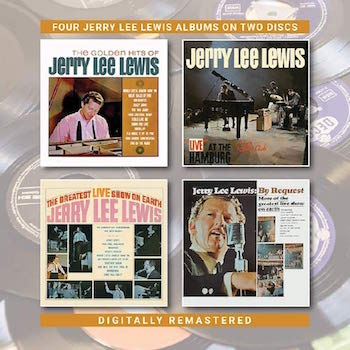 Lewis ,Jerry Lee - 4on2 The Golden Hits Of ../ Live At The..+ 2
