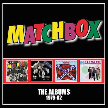 Matchbox - The Albums 1979-81 ( 4 cd boxset )