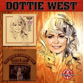 West ,Dottie - 2on1 A Legend In My Time - The Sound Of Country..
