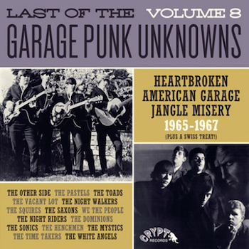V.A. - Last Of The Garage Punk Unknows : Vol 8