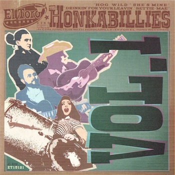 Honkabillies - Honkabillies Vol 1 ( Ltd Ep )