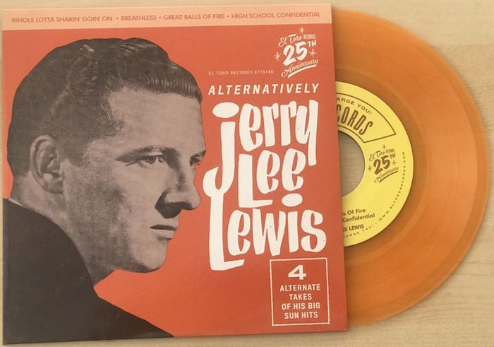 Lewis ,Jerry Lee - Alternatively Ep ( Ltd Color Ep )