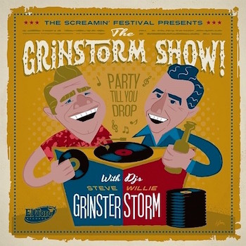 V.A. - The Grinstorm Show : The Screaming Festival 2019