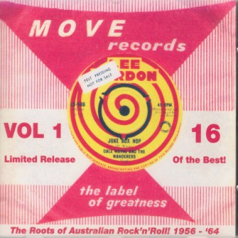 V.A. - Juke Box Hop Vol 1 : Move records