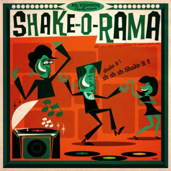 V.A. - Shake-O-Rama ( ltd lp + bonus cd )