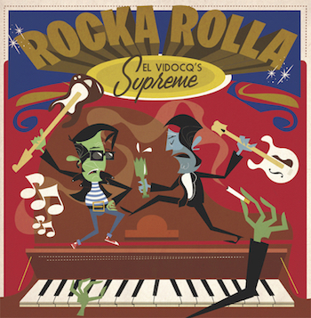 V.A. - Rocka Rolla El Vidocq's Supreme ( Ltd Lp + cd )