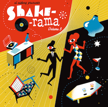 V.A. - Shake-O-Rama Vol 3 ( Ltd lp )