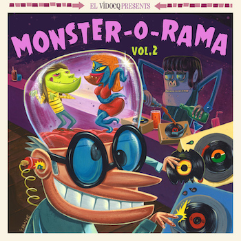 V.A. - Monster-O-Rama Vol 2 ( Ltd Lp + Free Cd )