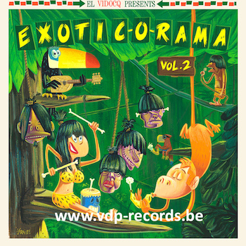 V.A. - Exotic-O-Rama Vol 2 ( Ltd Lp + cd )