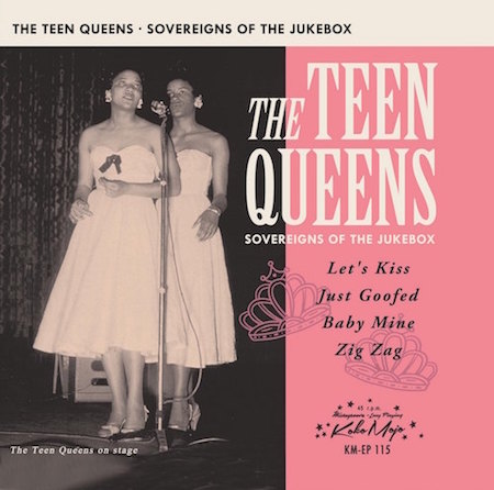 Teen Queens ,The - Sovereigns Of The Jukebox ( Ltd Ep )
